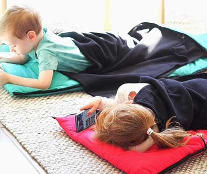Young Children on Kozy Koala's Daycare Nap Mat